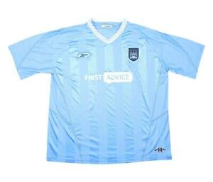 Manchester City 2003-04 ORIGINALE Maglietta (bene) XL soccer jersey