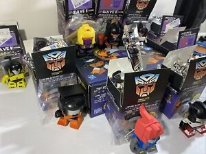 Transformers Loyal Subjects Lot Of 9 Vinyl Figures With Gear