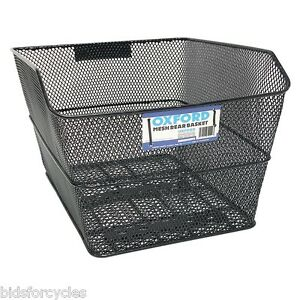OXFORD-BICYCLE-CYCLE-BIKE-MESH-BASKET-REAR-PANNIER-RACK-FIT-BK152