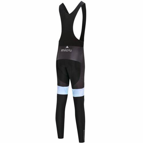 Details about  /Miloto Womens Winter Cycling Bib Tights Ladies Padded Thermal Cycling Bib Tights