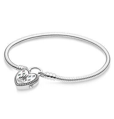 "New Authentic PANDORA Disney Fantasyland Castle Heart Bracelet Size  23cm/9.1"" | eBay"