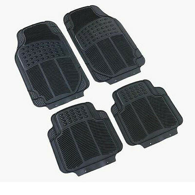 Rubber PVC Car Mats Heavy Duty Set fits Mitsubishi Lancer Clot Galant Carisma