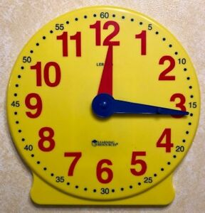 Learning-Resources-Big-Time-Learning-Clock-12-Hour-Demonstration-Clock