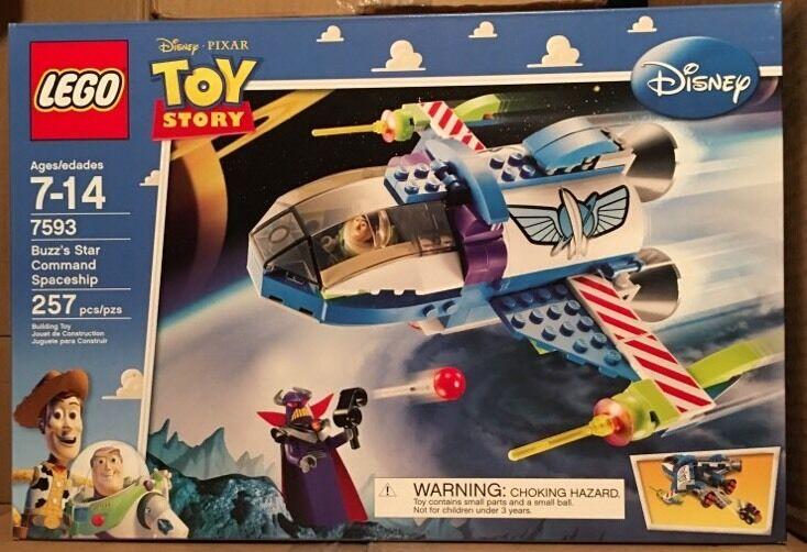 il miglior servizio post-vendita Lego 7593 Buzz's Buzz's Buzz's Estrella Comuomod spazioship Retirosso nuovo e Factory Sealed  si affrettò a vedere