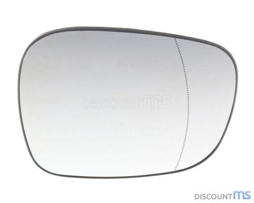 Vetro SPECCHIO DESTRO CROMATO asphärisch riscaldabile per BMW x1 e84 09-15