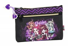 Monster High 13 Wishes Doppel Federmappe Mäppchen tow zipper pencil case NEU NEW