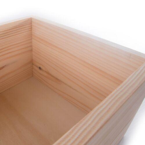 Memory Keepsake Chest Box CHOICE of 100 Small /& Medium Wooden Storage Boxes