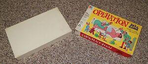 Operation-VTG-1965-Board-Game-Milton-Bradley-4545-X-BOX-ONLY