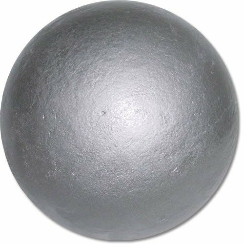 Nelco Competition Shot Put 8 pound 4kg Heavy Ball Sport Practice Silver New