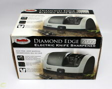 Smith's Electric Diamond Edge 2000 Kitchen Knife Sharpener - Model 50125