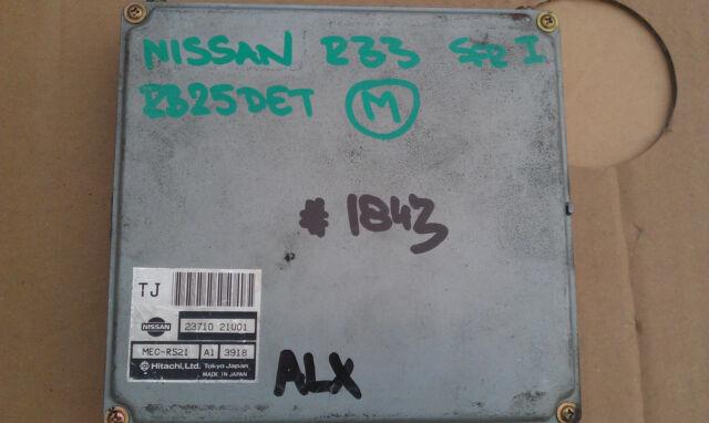 JDM NISSAN SKYLINE R33 GTS-T SER I RB25DET 5MT ECU 23710 21U01   #1863-43
