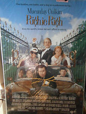 Authentic Richie Rich Movie Poster Macaulay Culkin Larroquette 1994 Comedy FULL