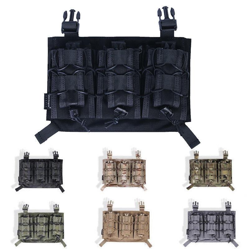 Emerson Tactical WarJuego 500D Nylon HSGI Estilo Revista Bolsa para APC Chaleco