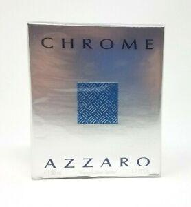 Chrome-by-Azzaro-Eau-de-Toilette-Spray-1-7-fl-oz-50-mL-NEW-SEALED-BENT-BOX