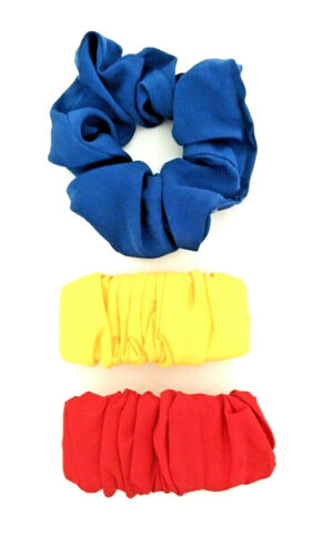 Lot of 3 Vintage 80's Snap Barrette Hair Clips Scr