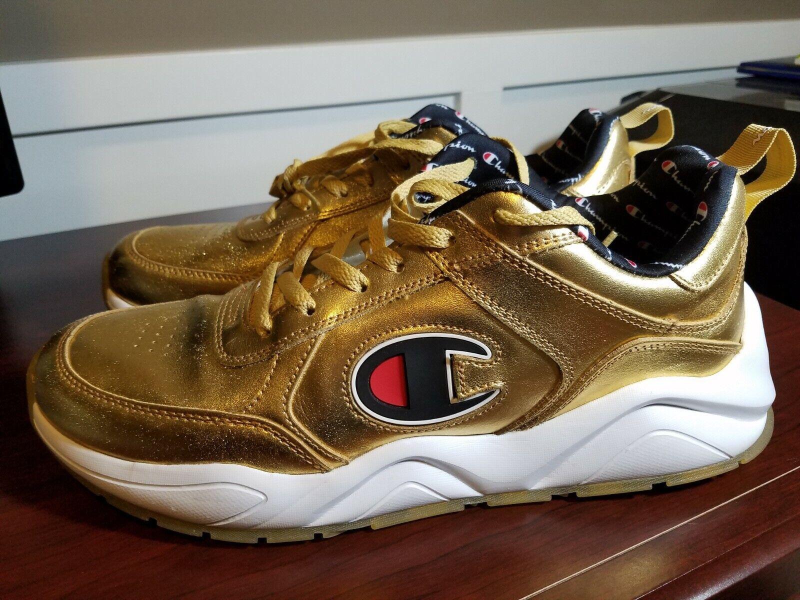 Champion 93 Eighteen Sneaker - Metallic gold - Men's Size 12