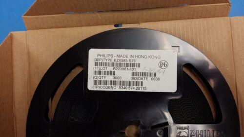 25 PCS BZX585-B75 PHILIPS Diode Zener Single 75V 2/% 300mW 2-Pin SOD-523