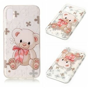 hot sale online 02773 74bdd Details about IPhone X case cover Teddy Bear