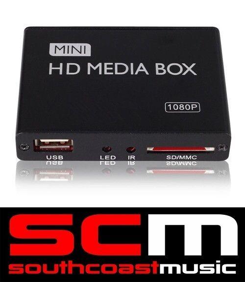 In Car Multi-Media Player HDMI 1080P AV Plays SD MKV External HDD Hard Drive