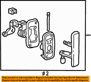 ford oem 92 02 e 350 econoline club wagon side sliding door handle Ford F700 Parts Diagram image is loading ford oem 92 02 e 350 econoline club