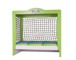 football kinderbett torbett fussball bett junge 90x200 ebay. Black Bedroom Furniture Sets. Home Design Ideas
