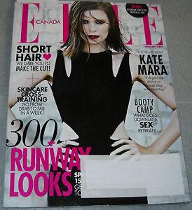 Elle Canada Magazine February 2014 Kate Mara Sarah Allen