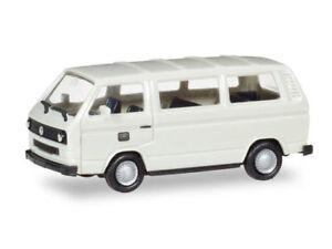 Herpa-093873-h0-automovil-vw-t3-coche-familiar-alemana-Bundes