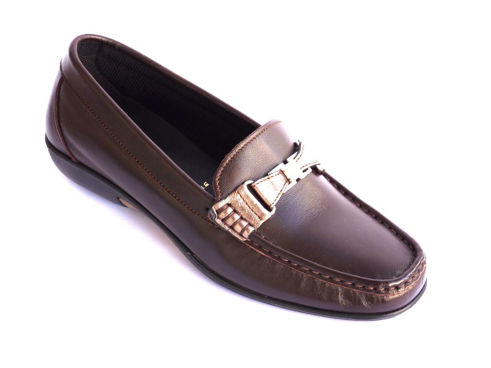 Unützer di 41 alta qualità Pelle Schnürschuh Sneaker COGNAC TG. 41 di 1/2 Top bi117 0b03cd