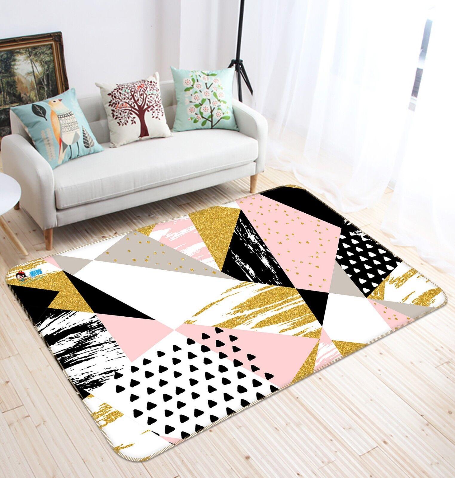3D Geometry Graffiti 6 6 6 Non Slip Rug Mat Room Mat Quality Elegant Photo Carpet UK 0bf28c