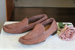 0f13dcb86e18 NICE! Taryn Rose SUEDE LEATHER men s loafers 44 MADE IN ITALY