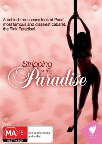 1 of 1 - STRIPPING AT THE PINK PARADISE (2010) - DOCO FRENCH CABARET DVD