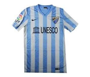 MALAGA 2014-15 Authentic Home Shirt (eccellente) S Soccer Jersey