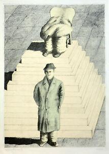 Siegfried NUOVO vivere: Ohne Titel. 1971. serigrafia a colori.