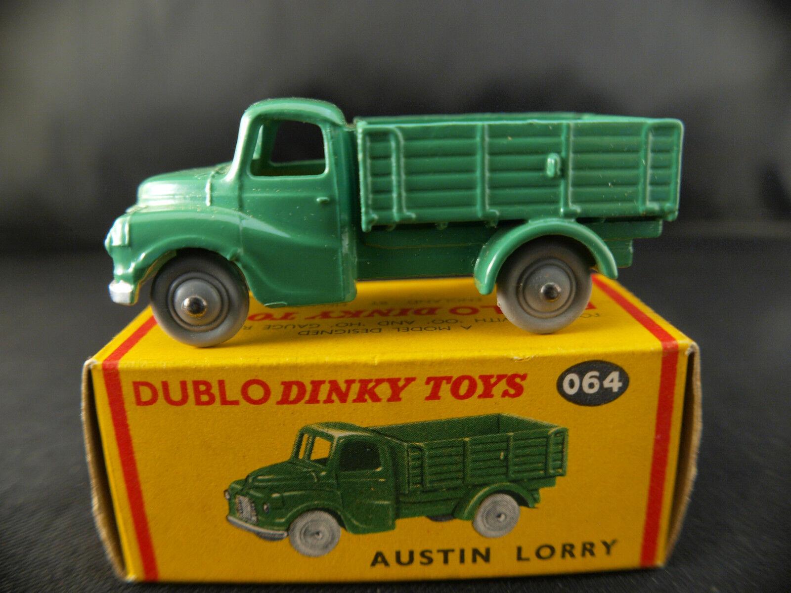 Dinky Toys Dublo GB n° 064 Austin Lorry truck camion benne neuf en boîte MIB | Approvisionnement Suffisant Et Une Livraison Rapide