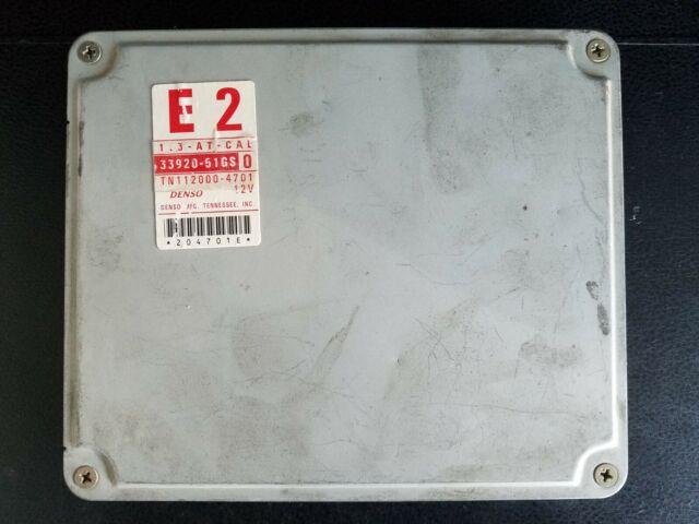 97 Geo Metro Electronic Control Module  Ecm  Ecu  33920