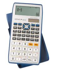 Artikelbild Genie 92SC Silber Taschenrechner 580 Funktionen Solar/Batteriebetrieb 10-stellig