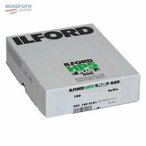 ILFORD HP5 Plus 400 Schwarzweißfilm, 4x5inch / 10,2x12,7cm, 100 Blatt
