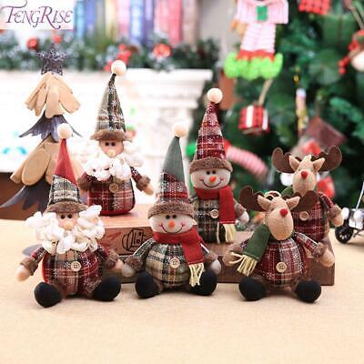 Christmas Gift Santa Claus Snowman Ornament Doll Festival Party Xmas Table Decor