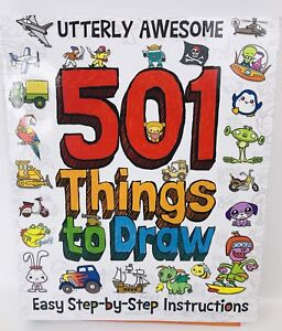 Easy How To Book 501 Things To Draw Vehicles Animals Manga Aliens