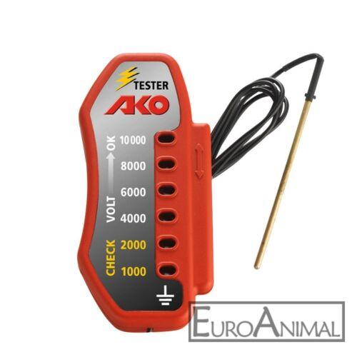 Elektrozaun Zauntester Stromprüfer Weidezaungerät Zaunprüfer AKO bis 10000 V