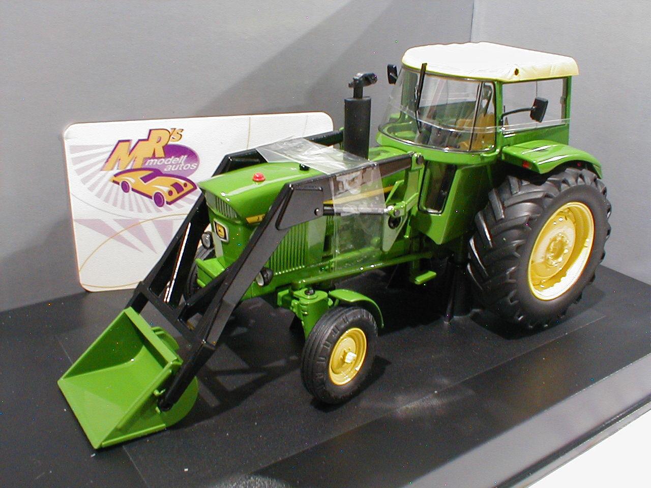 Schuco 07678 # John Deere 3120 con Front caricatrici BJ. 1972 1:32 agri technica 2015