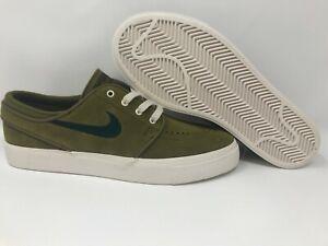 nacido robot el fin  WMNS Nike SB Zoom Stefan Janoski Skate Shoes Various Size Olive Green  AH4233-300 | eBay