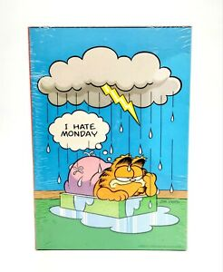 NEW-Vintage-Garfield-I-Hate-Monday-Giant-Poster-500-PC-Jigsaw-Puzzle-D174-1978