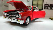 G LGB 1:24 Scala Chevrolet Malibu SS 1965 Maisto Automodello Metallo 31258