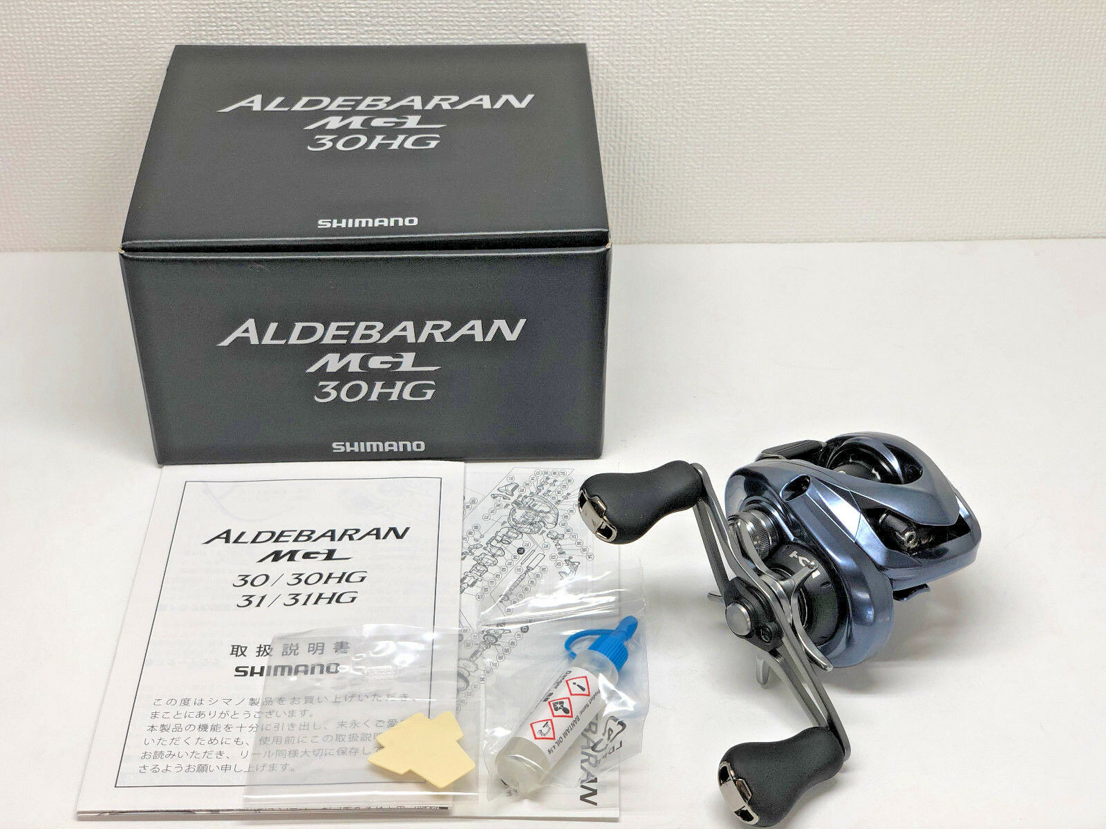 SHIMANO 18 ALDEBARAN MGL 30HG RIGHT  - Free Shipping from Japan