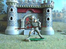 Vintage  Medieval German knight 1:35 painted