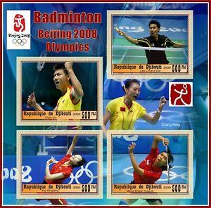 Stamps Olympic Games 2008 Beijing Badminton