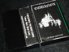 EQUINOX Of Blade And Graal CASSETTE raw black metal white medal furze ildjarn
