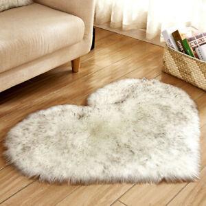 Wool-Imitation-Sheepskin-Rugs-Faux-Fur-Non-Slip-Bedroom-Shaggy-Carpet-Mats
