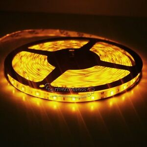 5M-SMD-3528-Amber-Super-Bright-Non-Waterproof-300LEDs-Led-Flexible-Strip-Light
